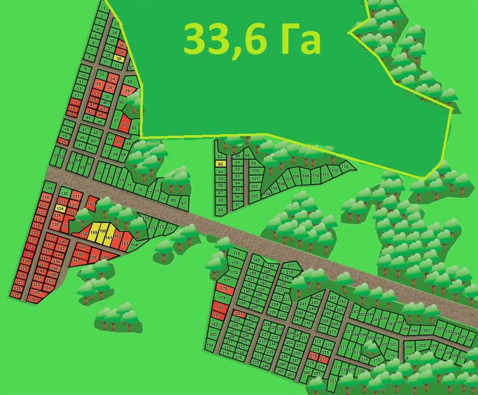 план33,6 Га